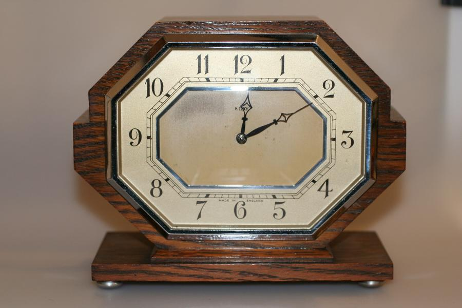Clock - Art Deco 8 day Clock