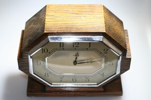 Clock - Art Deco 8 day Clock