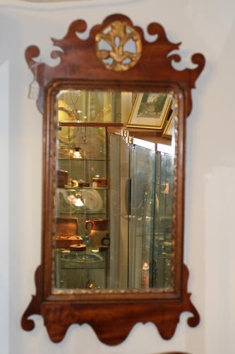 Mirror - Fine 19th Century Hogarth Style