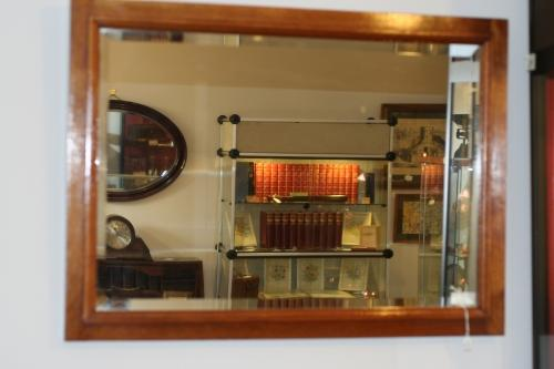 Mirror - Light Oak Rectangular Mirror