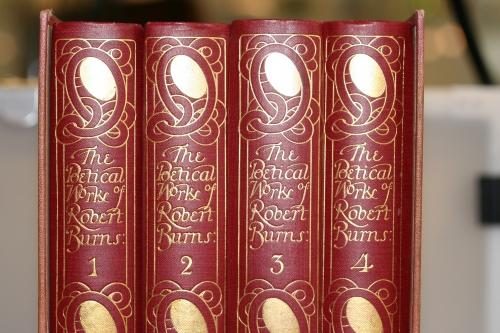 The Poetical Works of Robert Burns Boxed Set