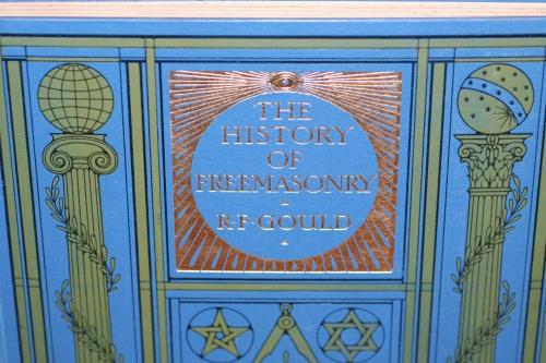 The History of Freemasonry by R F  Gould in Books