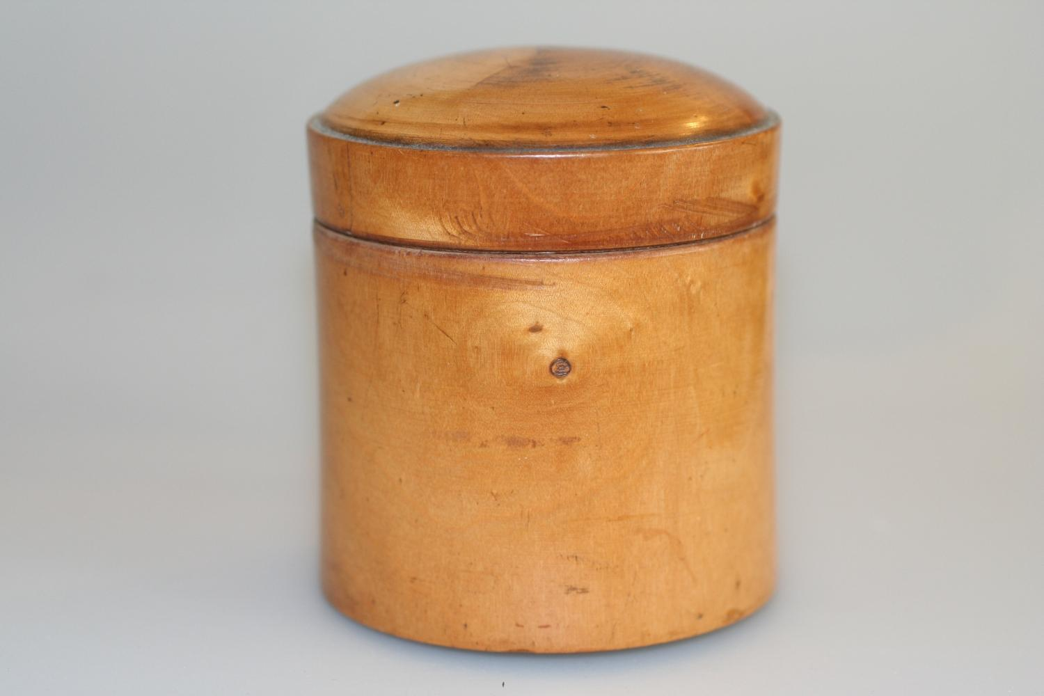 Treen - Early 20th C. Trinket Box