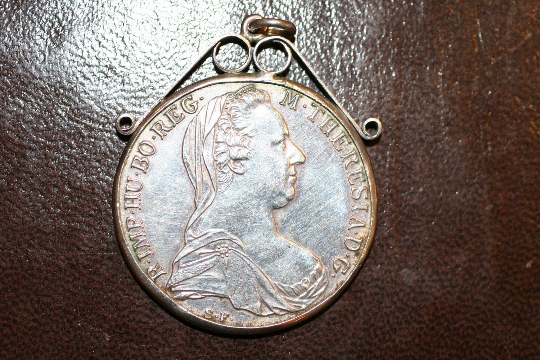 Maria Theresa Silver Thaler Coin