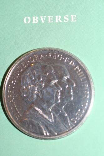 Diamond Wedding Crown £5 Coin 2007
