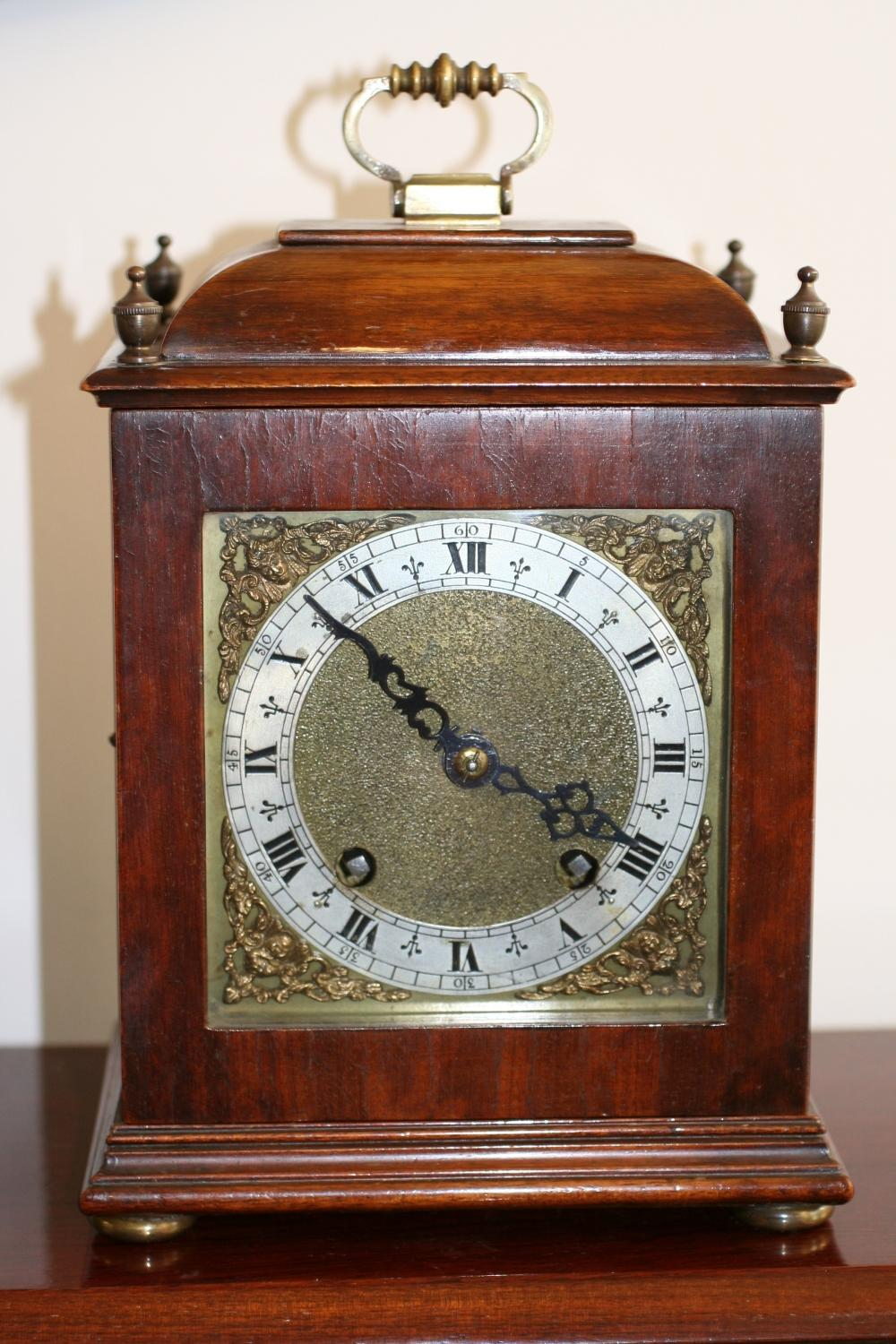 Victorian Mahogany Striking Clock