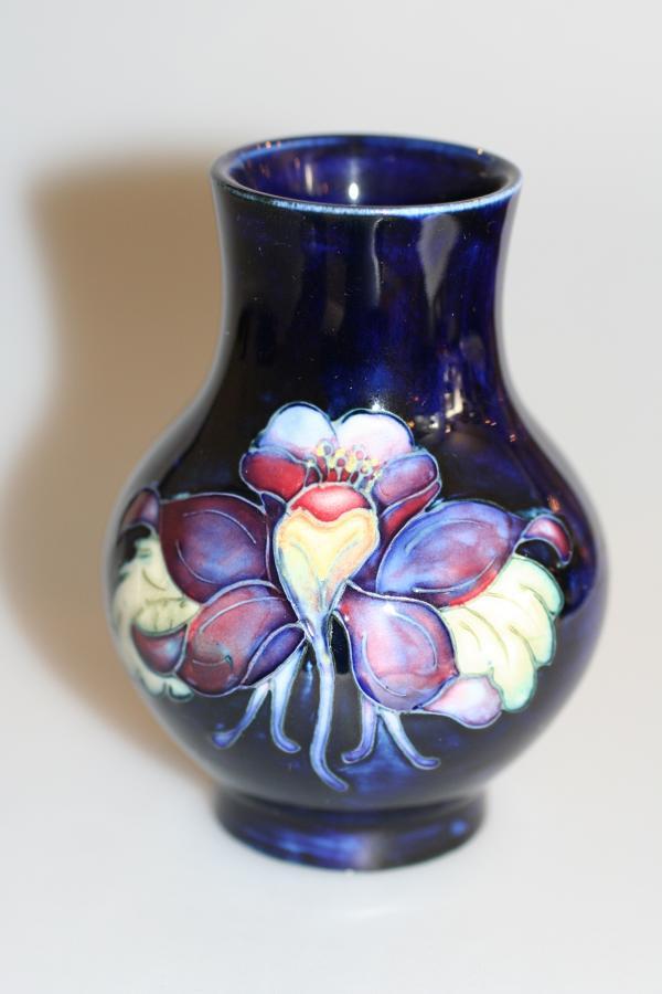 Moorcroft Baluster Vase