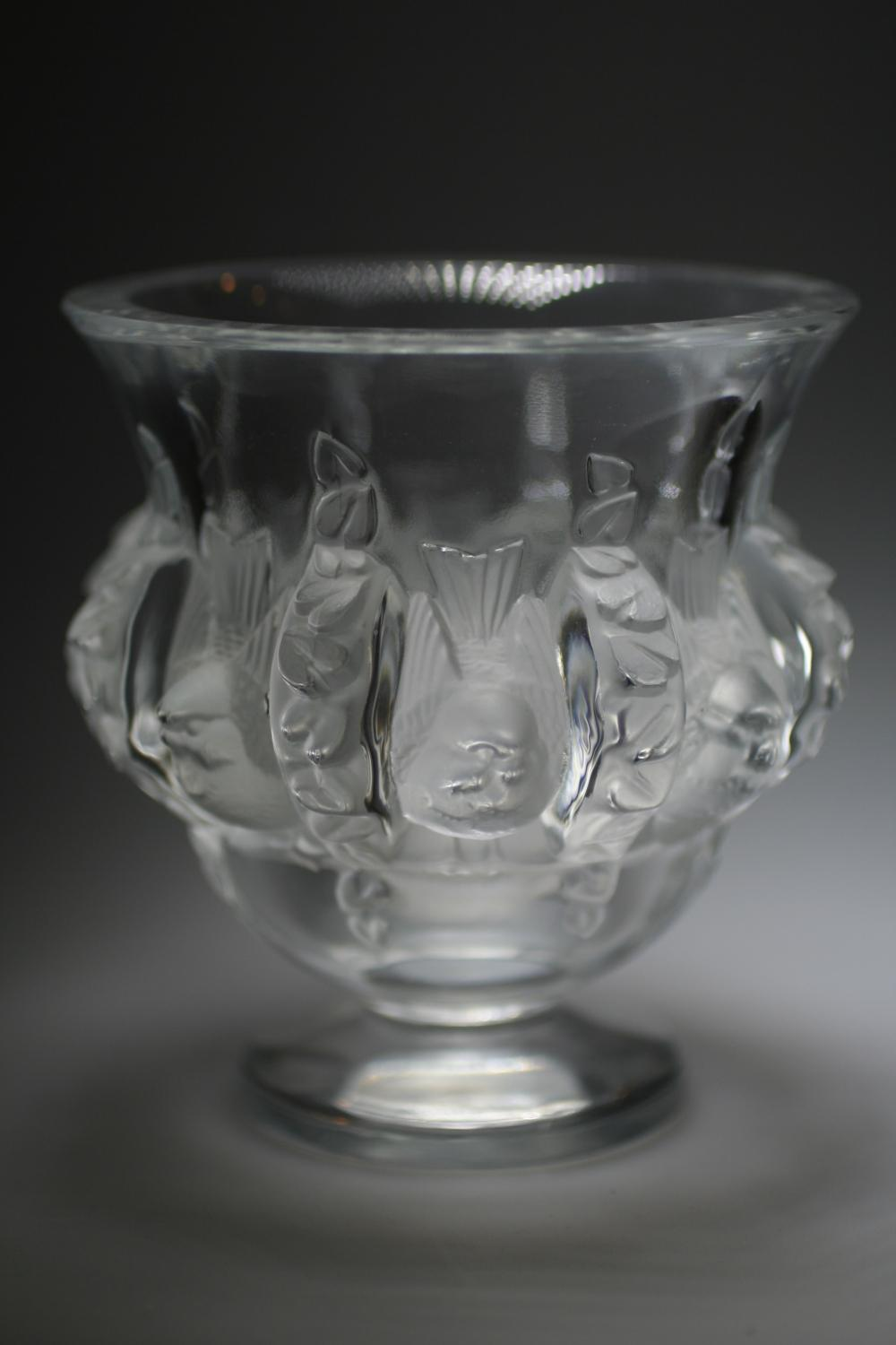 Lalique glass bird vase in glass lalique glass bird vase picture 8 reviewsmspy
