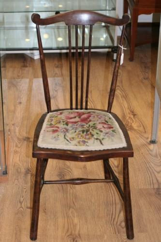 Edwardian Child's Stick-back Chair