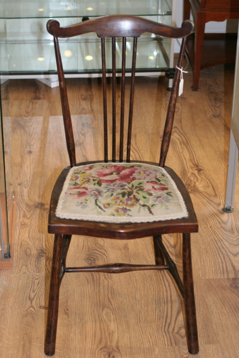 Edwardian Child's Stick-back Chair