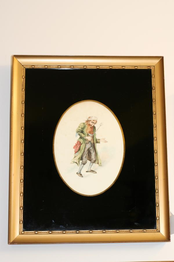 Victorian Watercolour of Fagin