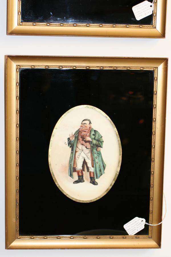 Victorian Watercolour of Mr Weller Snr.