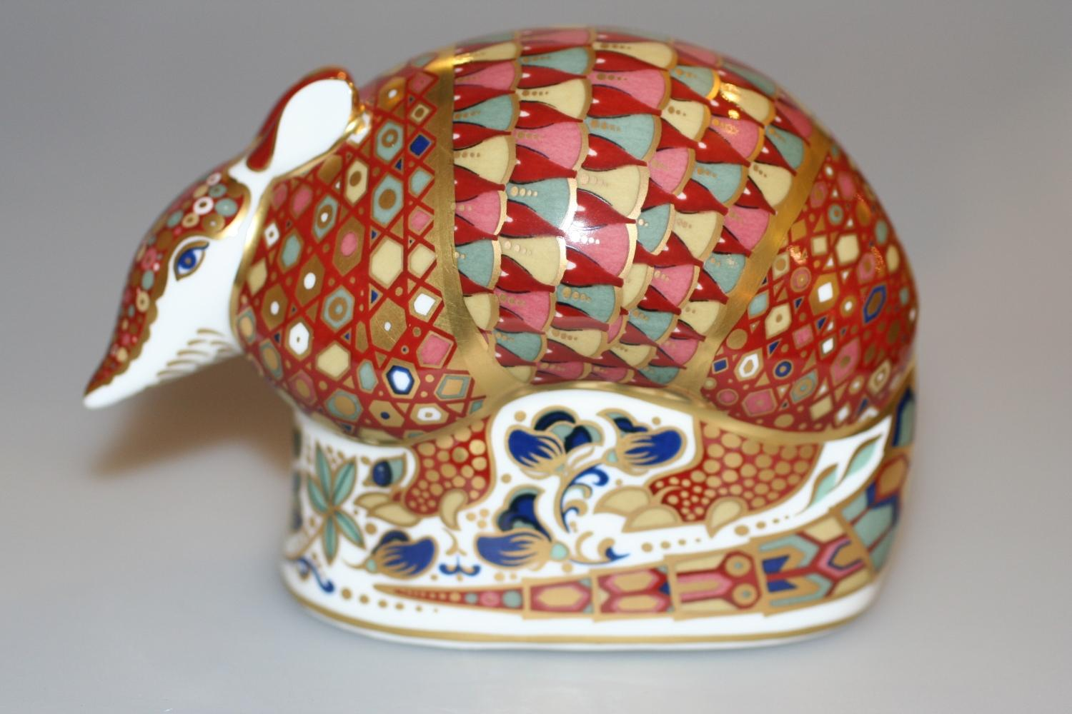 Crown Derby Armadillo
