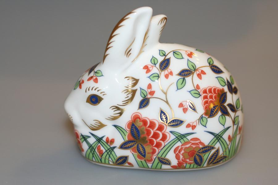 Crown Derby Meadow Rabbit