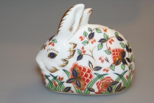 Crown Derby Meadow Rabbit
