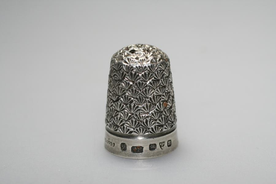 Charles Horner Silver Thimble