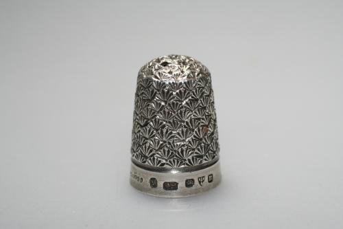 Charles Horner Silver Thimble