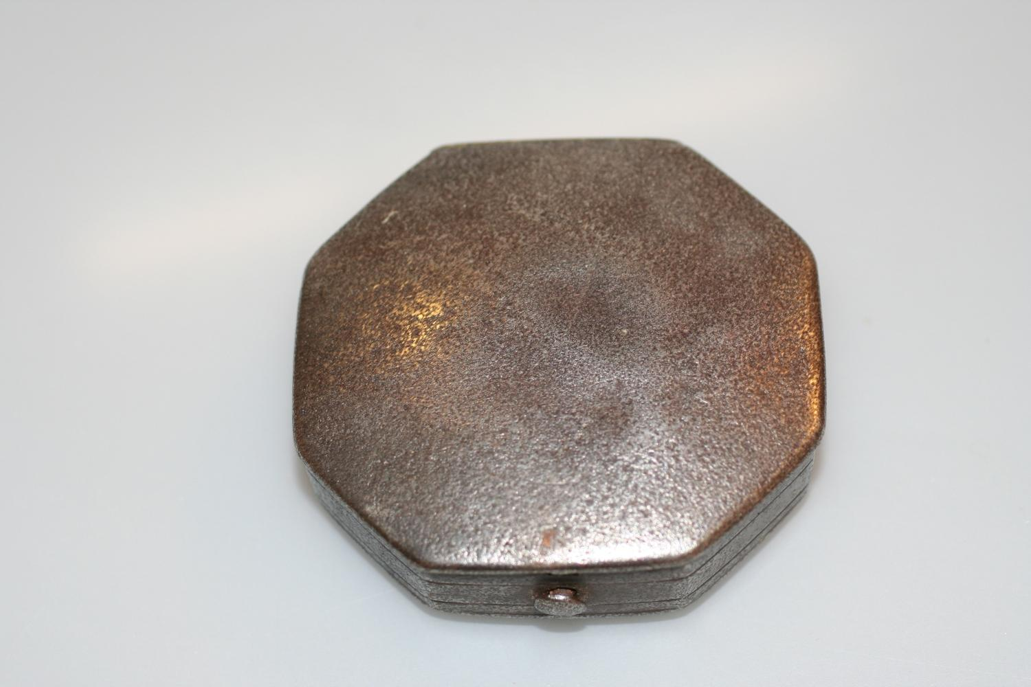 Rare Early Georgian Steel Snuff Box